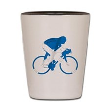 Scotland Cycling Shot Glass