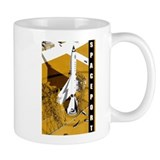 Spaceport scifi vintage Mug