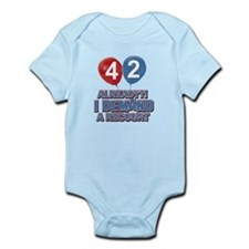42 years birthday gifts Infant Bodysuit