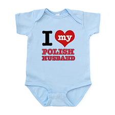 I love my Polish Husband Infant Bodysuit