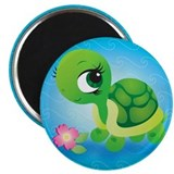 Toshi the Turtle Magnet