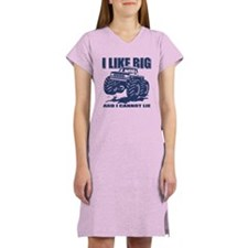 I Like Big Trucks Women's Nightshirt
