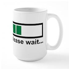 Loading bar please wait Mug