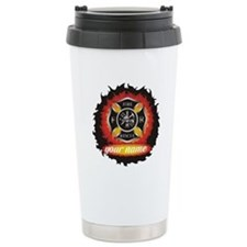 Personalized Fire and Rescue Travel Mug