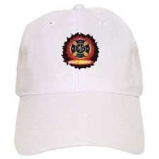 Personalized Fire and Rescue Baseball Hat