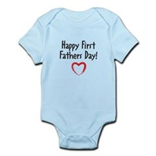 Happy First Fathers Day! Body Suit