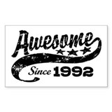 Awesome Since 1992 Decal