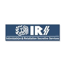 Anti-IRS Car Magnet 10 x 3