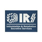 IRSS - Intimidation & Retaliation Rectangle Magnet