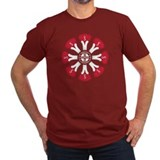 Schwinn Flower - Red T-Shirt