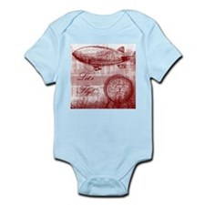 Steampunk Airship Infant Bodysuit