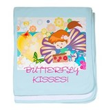 baby blanket BUTTERFLY KISSES
