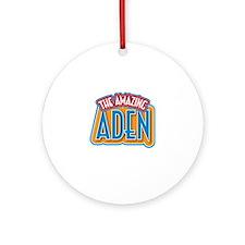 The Amazing Aden Ornament (Round)