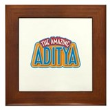 The Amazing Aditya Framed Tile