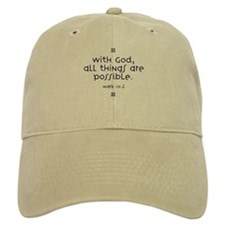 With God Baseball Cap
