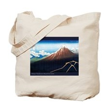 Thunderstorm Japanese Print A Tote Bag