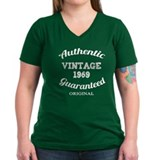 Authentic Vintage Birthday 1969 Shirt