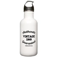 Authentic Vintage Birthday 1969 Water Bottle