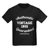 Authentic Vintage Birthday 1955 T