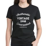 Authentic Vintage Birthday 1948 Tee