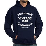 Authentic Vintage Birthday 1948 Hoodie