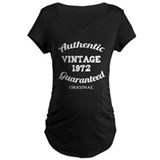 Authentic Vintage Birthday 1972 T-Shirt