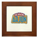 The Amazing Arjun Framed Tile