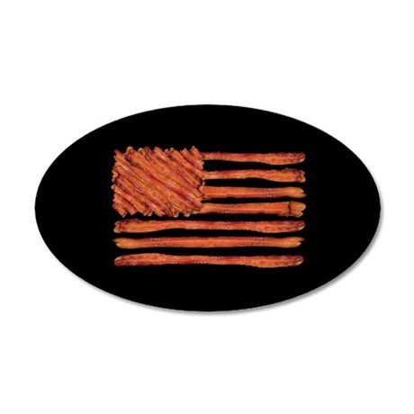 United States of Bacon Flag Wall Decal
