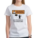 Warning Talk Hunger Games Tee