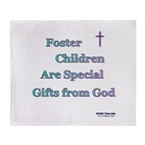 Foster Children Gifts from God Throw Blanket