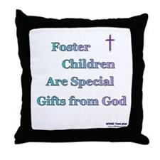Foster Children Gifts from God Throw Pillow