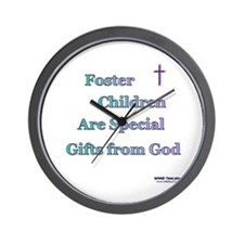 Foster Children Gifts from God Wall Clock