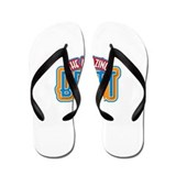The Amazing Brett Flip Flops