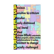 autism asperger Decal