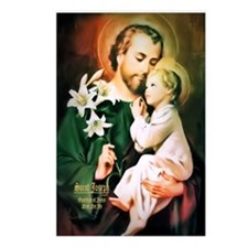 St Joseph Guardian of Jesus Postcards (Package of