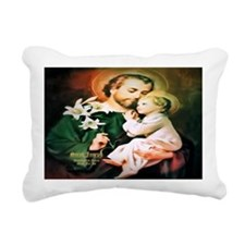 St Joseph Guardian of Jesus Rectangular Canvas Pil