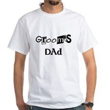 Cool Text Groom's Dad Shirt
