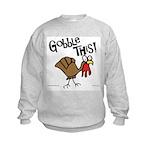 Gobble This Kids Sweatshirt