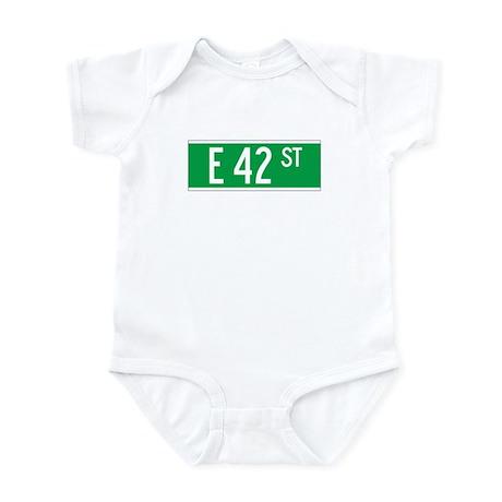 E 42 St., New York - USA Infant Bodysuit