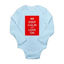 Keep Calm And Love On Body Suit