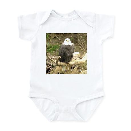 eagles Infant Bodysuit