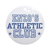 Enzo Ornament (Round)