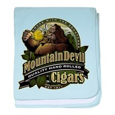 Mountain Devil Cigars baby blanket