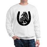 Horse Head & Horseshoe Sweatshirt