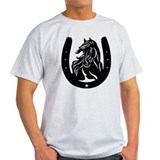 Horse Head & Horseshoe T-Shirt