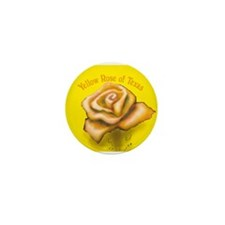Unique Yellow Mini Button (100 pack)