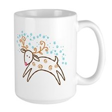 Reindeer Coffee Mug