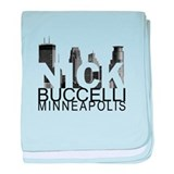 Minneapolis Skyline baby blanket