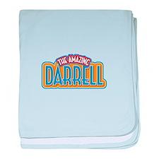 The Amazing Darrell baby blanket