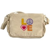 Love Art Messenger Bag